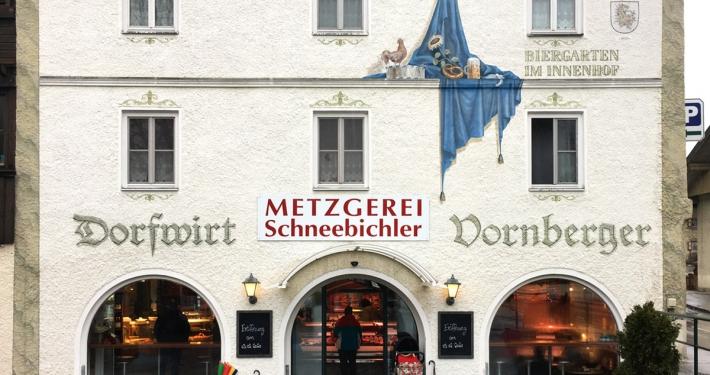 Metzgerei Schneebichler Haus